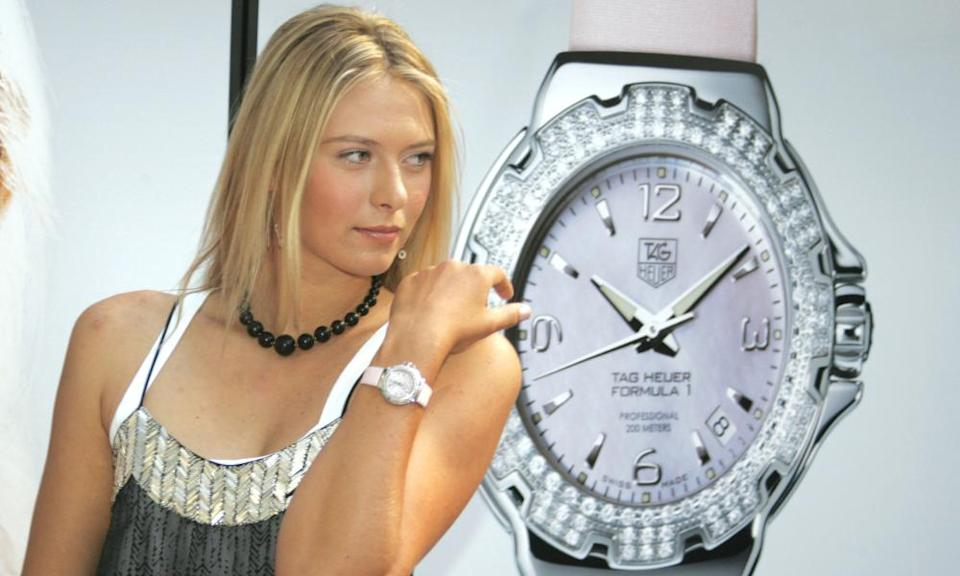 Maria Sharapova's father arrived in the US with $700 in his pocket – his daughter earned £38.7m in prize money alone.