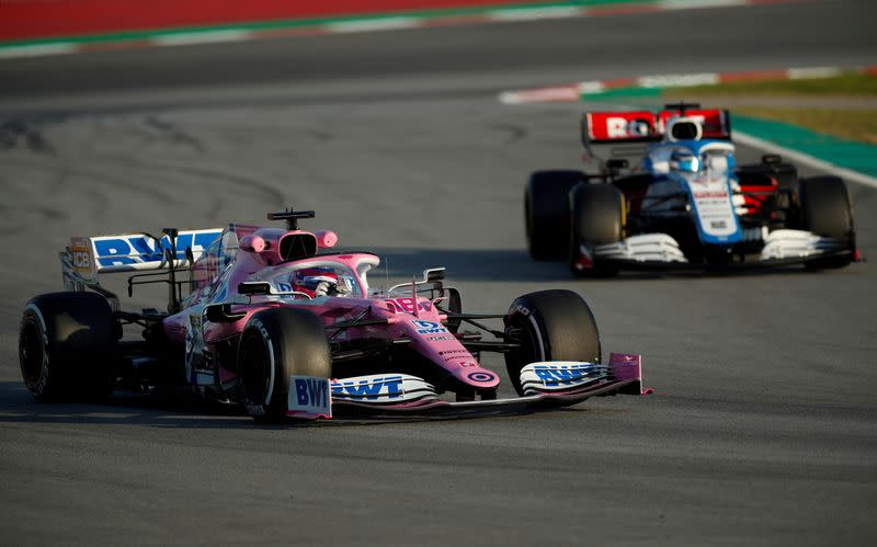 Williams and Racing Point drivers take pay cuts