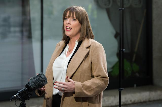 """Labour leader candidate <a href=""""https://uk.news.yahoo.com/tagged/jess-phillips"""" data-ylk=""""slk:Jess Phillips"""" class=""""link rapid-noclick-resp"""">Jess Phillips</a> said that on many occasions she felt """"tempted"""" to leave the party because of anti-semitism. (Getty)"""