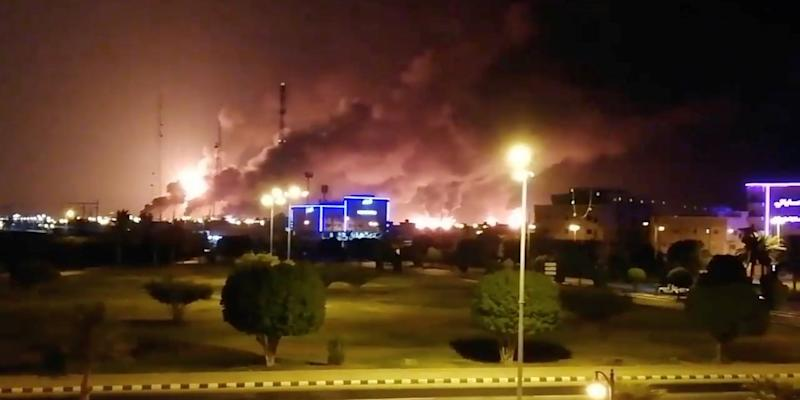 Saudi Arabia oil attack aramco
