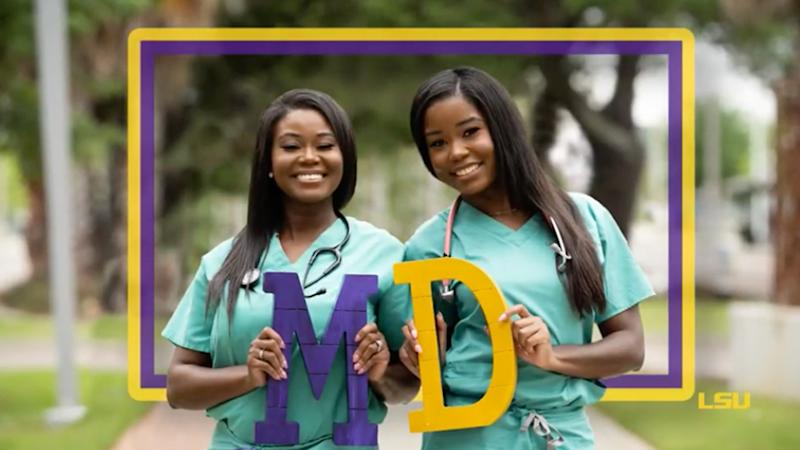 Dr.Cynthia Kudji, 49,(Left) and her daughter, Dr.Jasmine Kudji, (Right) 26 graduate from medical school at the same time