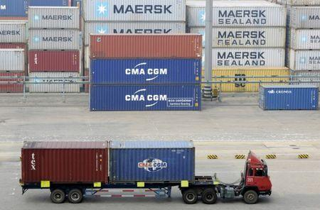 Canadian exports hit record high in March as trade deficit narrows