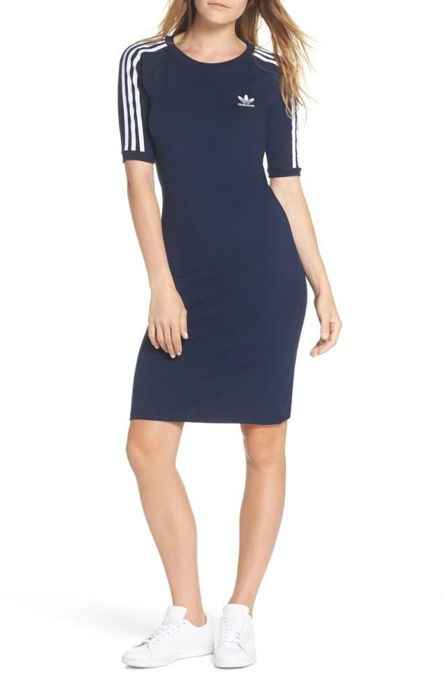 Adidas striped dress