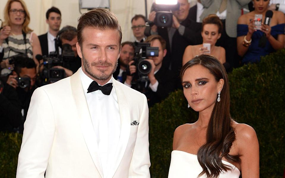 Team Beckflix: Posh and Becks have signed a deal to be reality TV stars - Getty Images