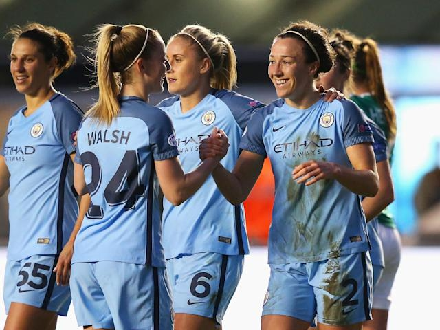 Manchester City Women remain on course for the final