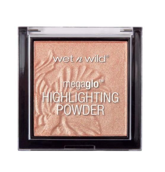 <p>Although it's priced significantly less than the million other highlighters currently on the market, <span>Wet n Wild MegaGlo Highlighting Face Powder Precious Petals</span> ($5) is just as silky, highly pigmented, and capable of giving skin the prettiest glow. </p>