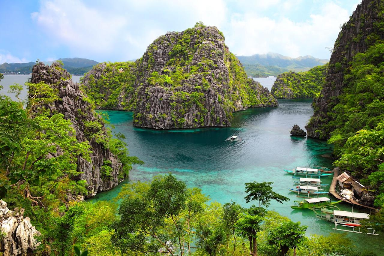 <p>While flights are quite steep, the actual holiday for two while you're in The Philippines is as affordable as it is beautiful. Think spas, boat trips and 5* hotels, all for the price of a round at the pub in the UK. </p>