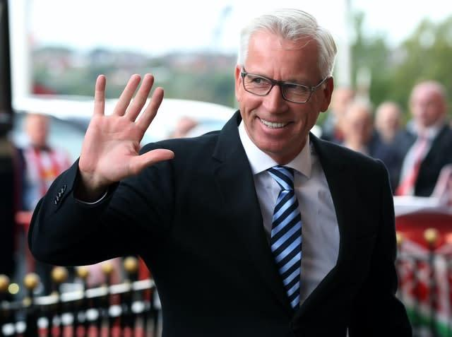Pardew made an impressive start to life as Crystal Palace manager (Scott Heppell/PA)