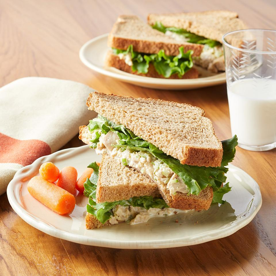 <p>This sweet twist on a classic tuna-salad sandwich is a healthy high-protein lunch that even your kids will love.</p>