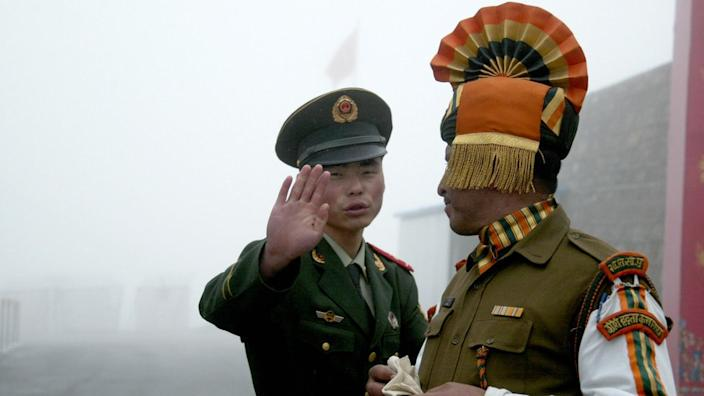 India and China have a long history of border disputes