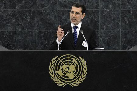 Othmani addresses the 68th session of the U.N. General Assembly in New York