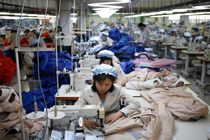 Kaesong estate in North Korea, where 126 Seoul firms operated factories that employed 54,000 North Koreans, had been considered a precious source of hard currency for the impoverished North since its opening in 2004 (AFP Photo/Kim Hong-Ji)