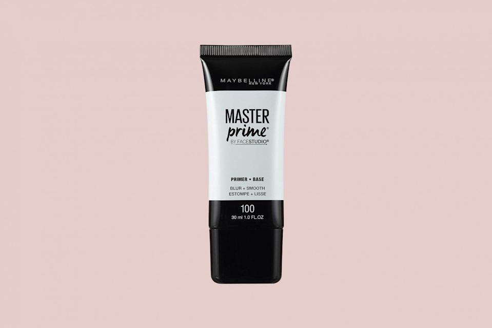 "<p>There are plenty of high-quality primers to be <a href=""https://www.marthastewart.com/2225759/best-skincare-products-affordable-dupes"" rel=""nofollow noopener"" target=""_blank"" data-ylk=""slk:found in the drugstore"" class=""link rapid-noclick-resp"">found in the drugstore</a>, including this option from Maybelline. Not only will this product even tone and blur imperfections, it is also formulated with SPF 30 to create a base of sun protection, too (but don't skimp on your regular sunscreen before applying this one!).</p> <p><strong><em>Shop Now: </em></strong><em>Maybelline Face Studio Master Prime Primer, $8, <a href=""https://goto.target.com/c/249354/81938/2092?subId1=MSLTheBestFacePrimersforSmoothEvenMakeupApplicationsbamseyBeaGal7987429202009I&u=https%3A%2F%2Fwww.target.com%2Fp%2Fmaybelline-face-studio-master-prime-primer%2F-%2FA-16878208"" rel=""nofollow noopener"" target=""_blank"" data-ylk=""slk:target.com"" class=""link rapid-noclick-resp"">target.com</a></em><em>.</em></p>"