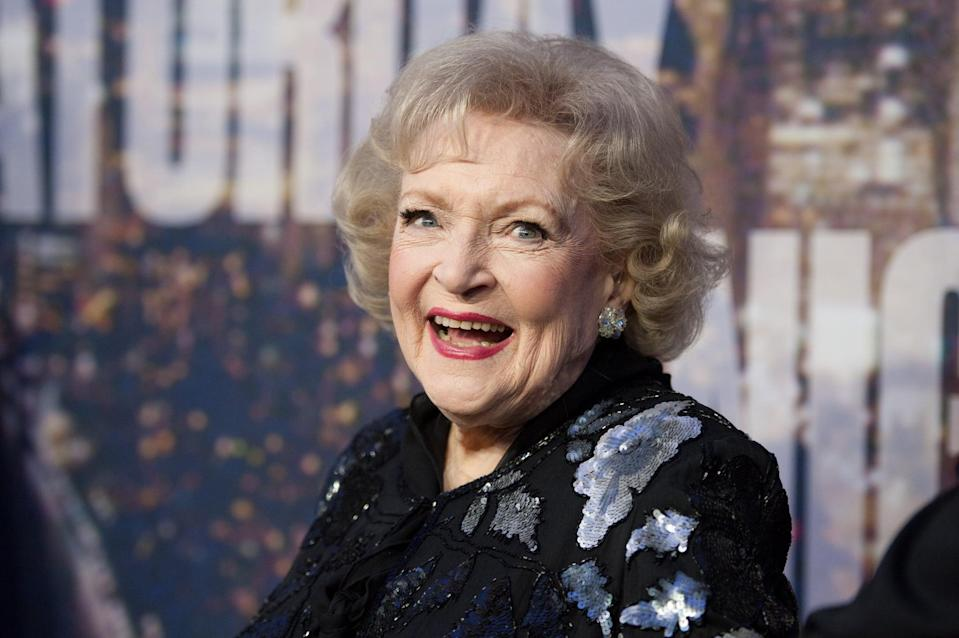 """<p><strong>Betty White: First Lady of Television</strong> gives a look into Betty White's exciting life and career. The film features handfuls of behind-the-scenes clips of her work on TV, as well as interviews from her friends and former costars. You can also get a glimpse at how funny and down to earth she actually is!</p> <p>Watch <a href=""""https://www.netflix.com/title/81173792"""" class=""""link rapid-noclick-resp"""" rel=""""nofollow noopener"""" target=""""_blank"""" data-ylk=""""slk:Betty White: First Lady of Television""""><strong>Betty White: First Lady of Television</strong></a> on Netflix now.</p>"""