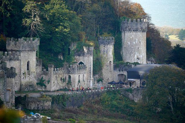 Gwyrch Castle will once again play host to I'm A Celebrity (Photo: Christopher Furlong via Getty Images)