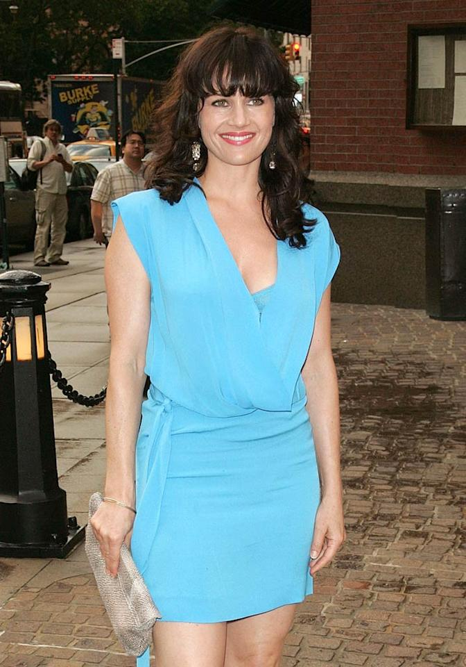 "Carla Gugino (""Californication"") turns 40. Jim Spellman/<a href=""http://www.wireimage.com"" target=""new"">WireImage.com</a> - July 13, 2011"