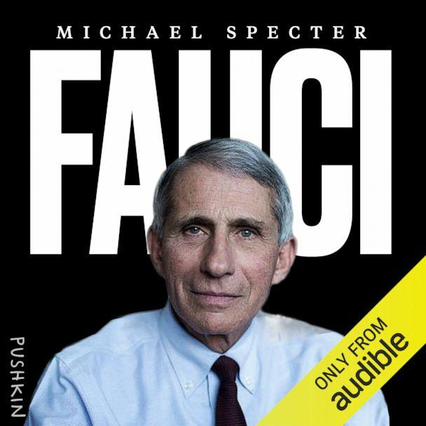 Michael Spector's audiobook 'Fauci,' which is available on Monday, October 5 via Audible.  (Pushkin Industries)