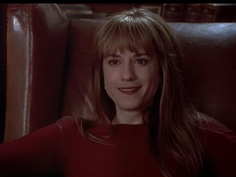 "Holly Hunter in ""Home for the Holidays."""