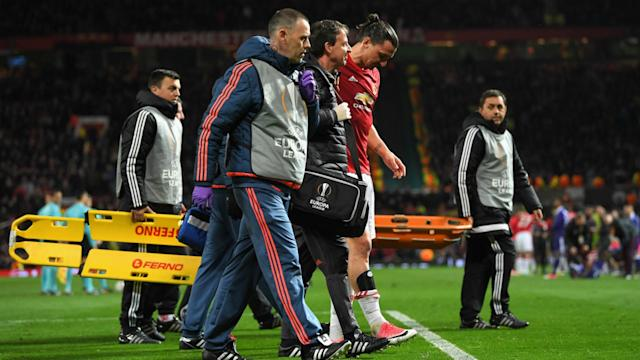The manager does not know whether the striker will stay at Manchester United, but is confident he will recover from injury