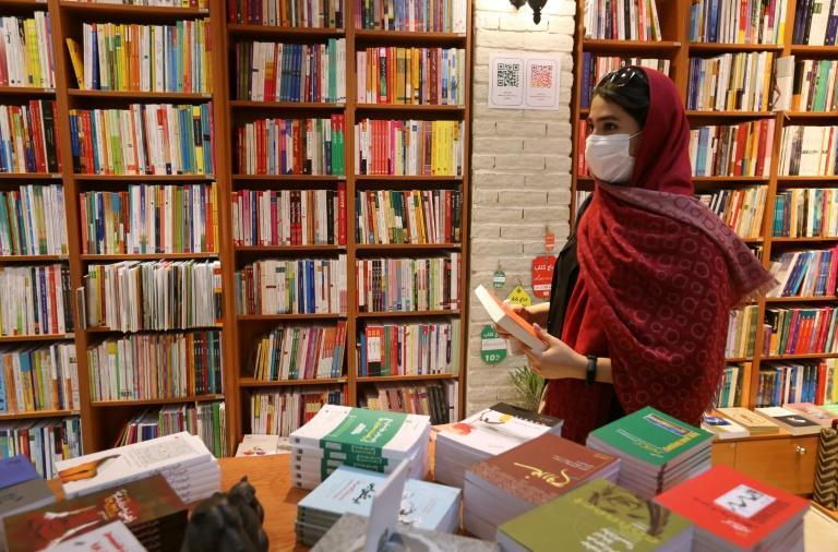 Many Western best selling books are quickly translated and made available in Iran, where they are snatched up by a largely female readership, according to several Tehran publishers
