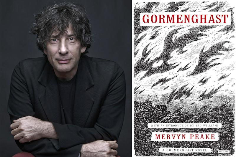 Gormenghast fantasy TV series with Neil Gaiman heads to Showtime