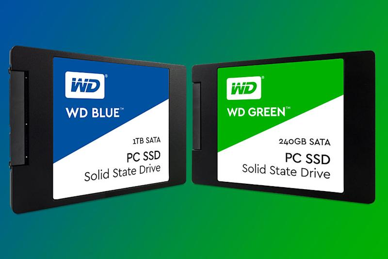 Western Digital is testing the SSD waters with new midrange and budget drives