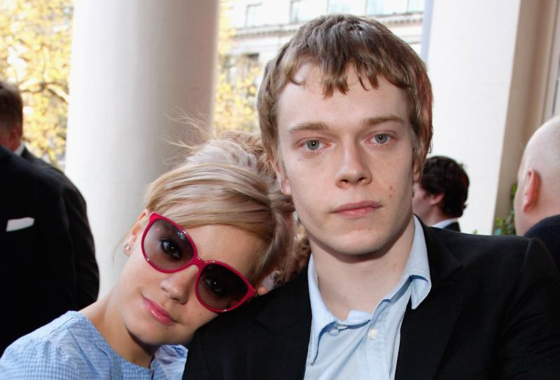 (EXCLUSIVE, Premium Rates Apply) LONDON - APRIL 13: Lily Allen and Alfie Allen attend the Flashbacks Of A Fool film premiere Drinks Reception held at the Empire Leicester Square on April 13, 2008 in London, England. (Photo by Jon Furniss/WireImage)