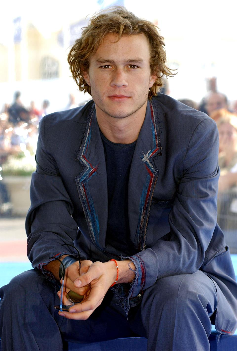 Heath Ledger passed away, age 28, in 2008 by an accidental drug overdose. Source: Getty