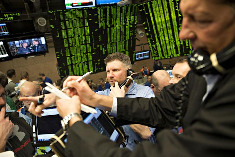 Stocks plunge on worries over trade