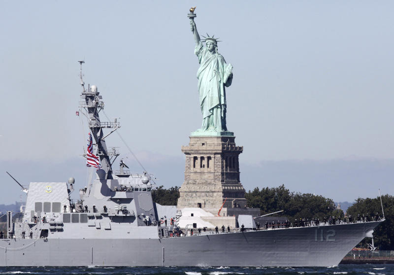 Newest Navy destroyer pays tribute to SEAL from NY