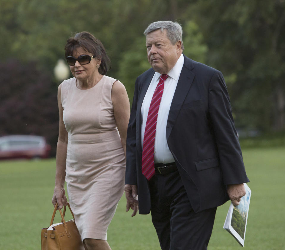 Melania Trump's Parents Are at the White House