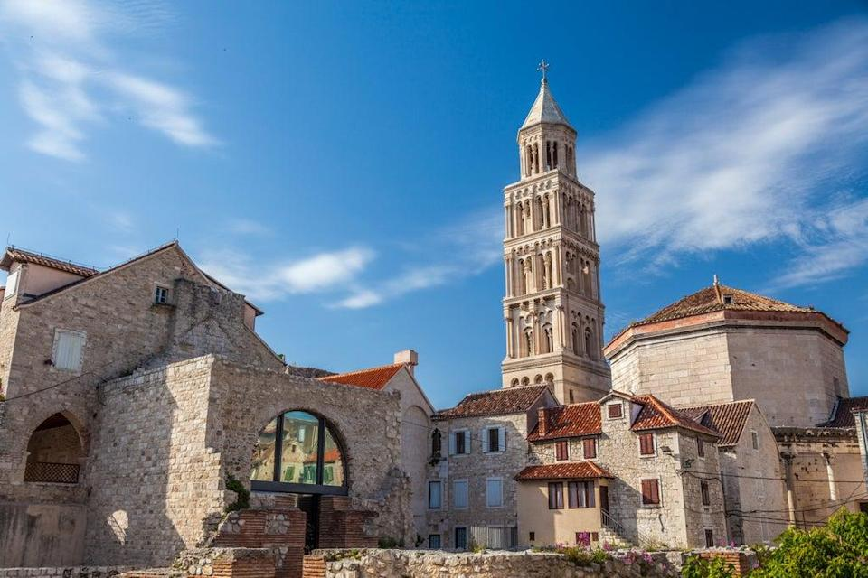 Diocletian's Palace is the most prominent monument in Split (Croatia Tourism Board)
