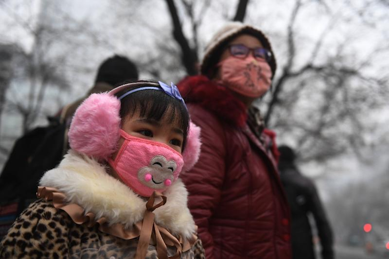 A report by China's environment ministry last year showed hundreds of the country's biggest cities failed to meet health standards for small-particle pollution