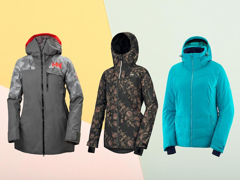 We recommend choosing a jacket with certain key design features, such as a snow skirt, which does up snugly around your waist to stop any snow getting in if you do fall over (The Independent/iStock)
