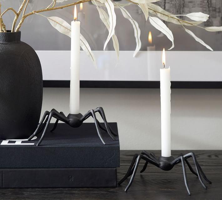 <p>The <span>Spider Candlestick</span> ($20) will send chills down your spine.</p>