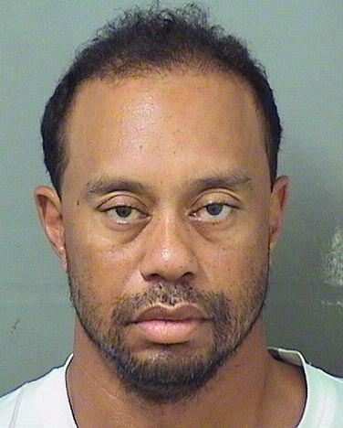 Tiger Woods was booked by the Palm Beach County Sheriff's Office on Monday for DUI. (AP)