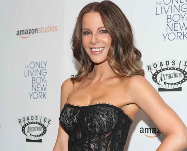 Kate Beckinsale at the premiere of 'The Only Living Boy in New York' (Getty Images)