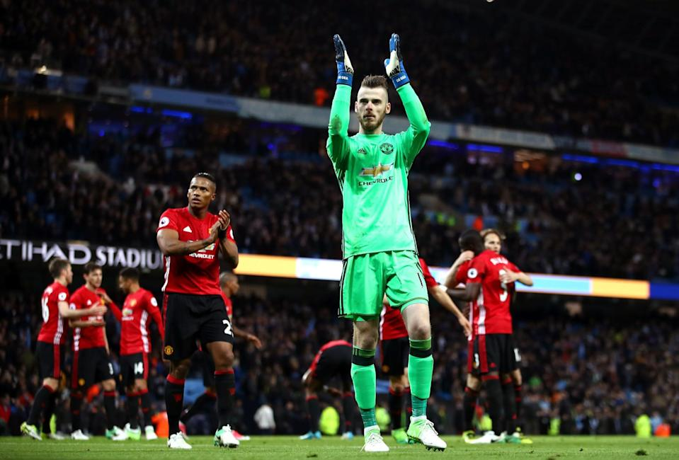 David De Gea is staying at Manchester United