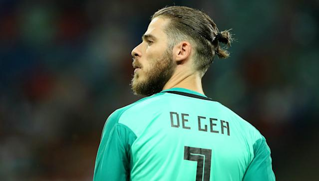 The Manchester United goalkeeper was at fault for one of Cristiano Ronaldo's goals in Spain's 3-3 draw with Portugal, but has been backed to respond