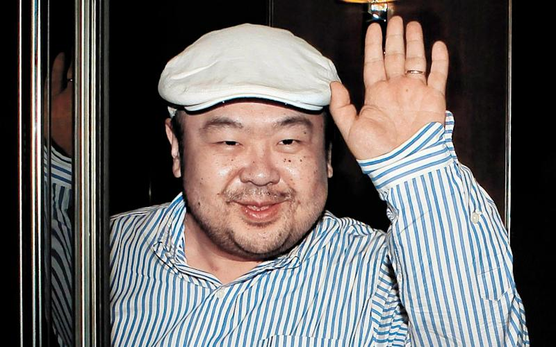 In this photo taken Friday, June 4, 2010, Kim Jong Nam, the eldest son of North Korean leader Kim Jong Il, waves - Credit:  Shin In-seop