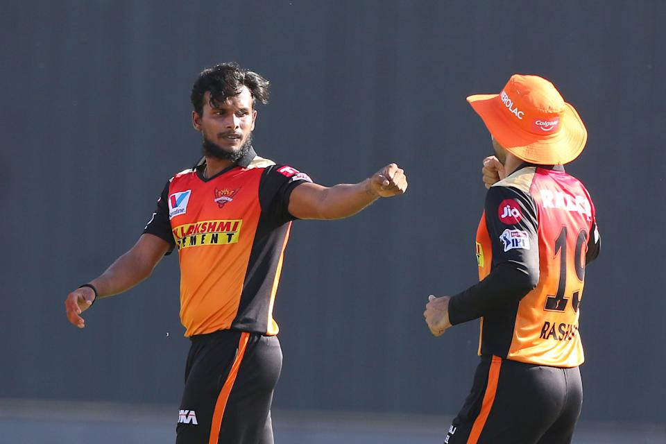 Sunrisers Hyderabad, too, have been able to find a rising star in left-arm pacer T Natarajan.