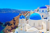 <p>Whitewashed buildings, clear blue oceans and Mediterranean food – there's no surprise that Brits want to venture to the Greek Isles as soon as COVID-19 is over. From Athens offering lots of activities and historical explorations, to the sweeping sea views of Santorini, there's something for everyone.</p>