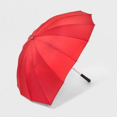 """<p><strong>ShedRain</strong></p><p>target.com</p><p><strong>$29.99</strong></p><p><a href=""""https://www.target.com/p/shedrain-heart-shaped-stick-umbrella-red/-/A-53676015"""" rel=""""nofollow noopener"""" target=""""_blank"""" data-ylk=""""slk:Shop Now"""" class=""""link rapid-noclick-resp"""">Shop Now</a></p><p>Your sweetheart will love using this adorable umbrella whenever it's drizzly out.</p>"""