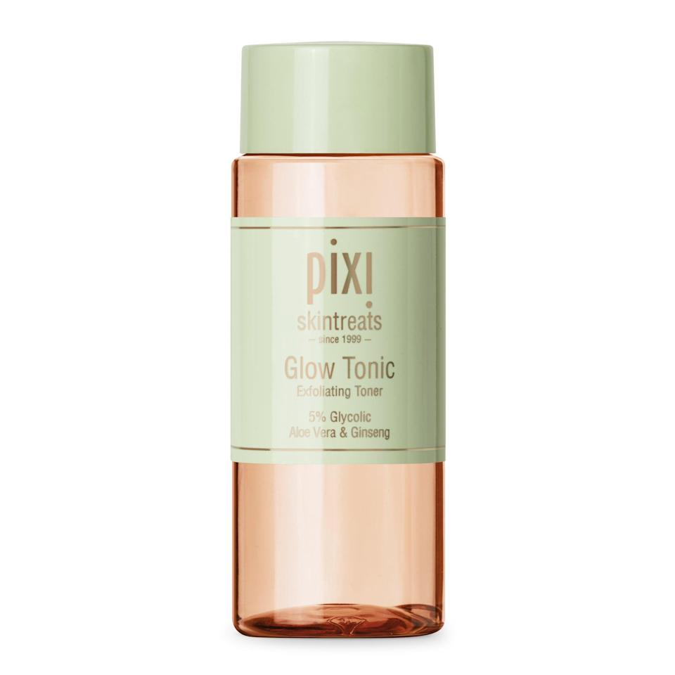 "<p>If you looked up ""too good to be true"" in the dictionary, you should find a photo of the <span>Pixi Glow Tonic</span> ($15). It's affordable, effective, and gentle enough to use every single day. Wipe it over skin at night before applying a serum or moisturizer, and wake up to a glowing complexion.</p>"