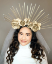 """<p>Dress yourself in all white, then don a homemade gold crown (attach spray painted roses and dowels to a headband) to transform yourself into a heavenly goddess. </p><p><a class=""""link rapid-noclick-resp"""" href=""""https://www.instagram.com/p/B4T89KwAoBe/"""" rel=""""nofollow noopener"""" target=""""_blank"""" data-ylk=""""slk:SEE MORE"""">SEE MORE</a></p><p><a class=""""link rapid-noclick-resp"""" href=""""https://www.amazon.com/Rust-Oleum-327909-American-Accents-Metallic/dp/B078WMH6N6/?tag=syn-yahoo-20&ascsubtag=%5Bartid%7C10072.g.33547559%5Bsrc%7Cyahoo-us"""" rel=""""nofollow noopener"""" target=""""_blank"""" data-ylk=""""slk:SHOP GOLD SPRAY PAINT"""">SHOP GOLD SPRAY PAINT</a></p>"""