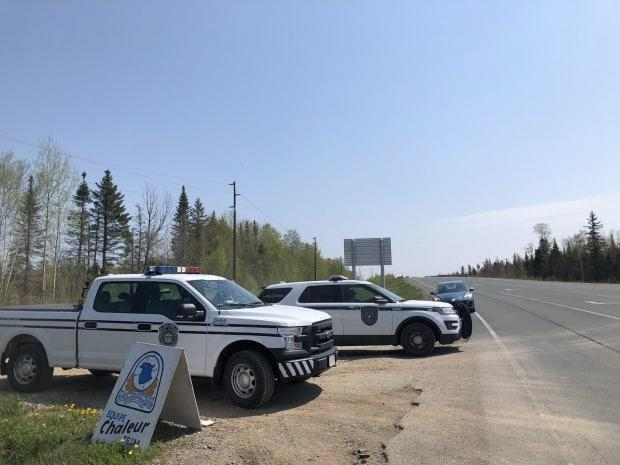 About 30 members of the Bathurst Police, RCMP and search and rescue continue to scour through the four-hectare quarry site.