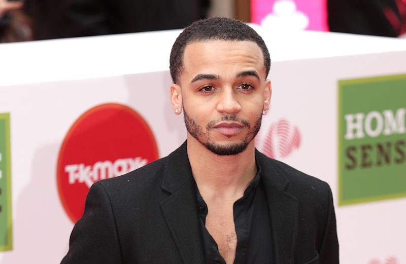 Aston Merrygold's two-year-old son was targeted with racist abuse on Instagram. (PA)