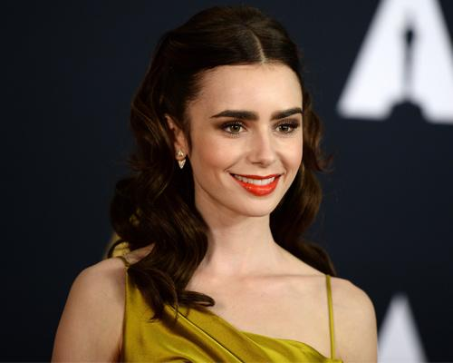 Lily Collins is Belle from Beauty and the Beast in this redcarpet