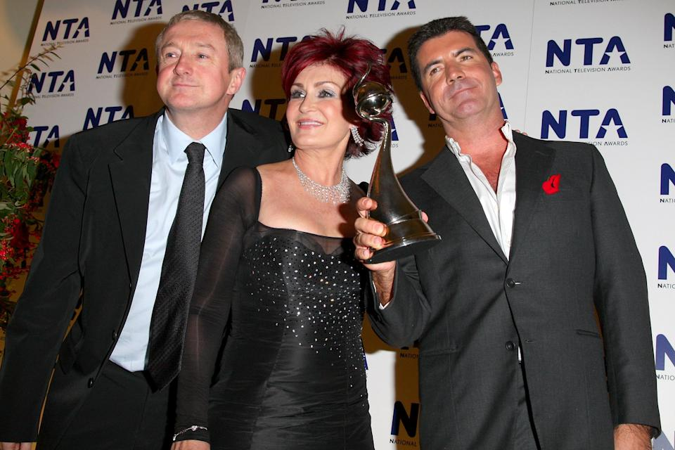 Sharon Osbourne claims Simon Cowell fired her from 'The X Factor' because she was 'too old' (Jon Furniss/WireImage)