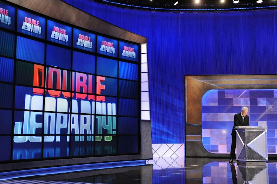 """<p>Each episode covers six categories, which are set before the morning of the show. To make sure categories aren't geared towards one contestant in particular, <a href=""""https://better.net/arts-events/movies-tv/jeopardy-heres-actually-happens-behind-scenes/"""" rel=""""nofollow noopener"""" target=""""_blank"""" data-ylk=""""slk:names are drawn randomly"""" class=""""link rapid-noclick-resp"""">names are drawn randomly</a> and assigned to an episode <em>after</em> questions are finalized.</p>"""